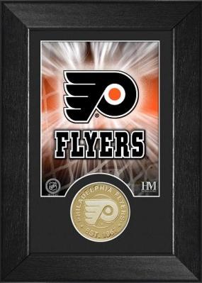 Philadelphia Flyers Bronze Coin Team Mini Mint