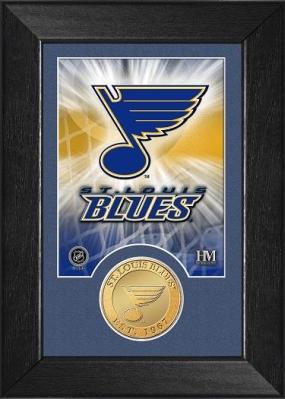 St. Louis Blues Bronze Coin Team Mini Mint