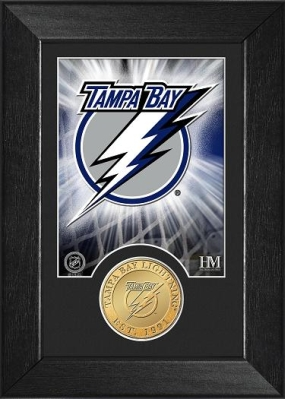 Tampa Bay Lightning Bronze Coin Team Mini Mint