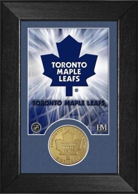 Toronto Maple Leafs Bronze Coin Team Mini Mint
