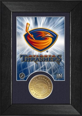 Atlanta Thrashers Bronze Coin Team Mini Mint