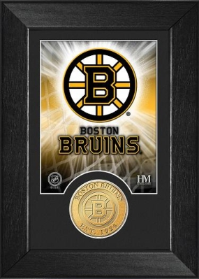Boston Bruins Bronze Coin Team Mini Mint