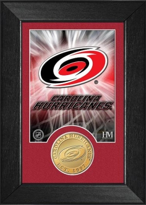 Carolina Hurricanes Bronze Coin Team Mini Mint