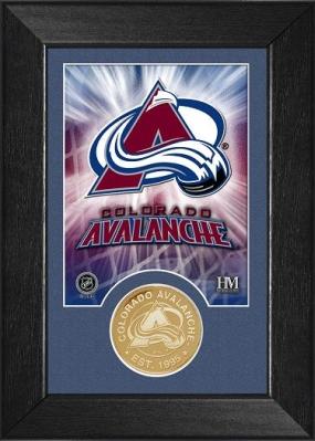 Colorado Avalanche Bronze Coin Team Mini Mint
