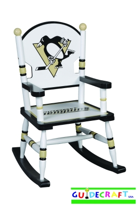 Pittsburgh Penguins Kid's Rocking Chair