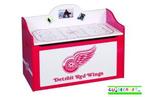 Detroit Red Wings Toy Box