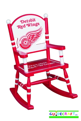 Detroit Red Wings Kid's Rocking Chair