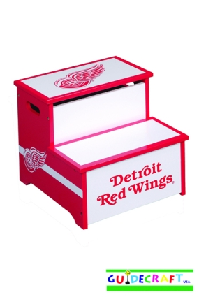 Detroit Red Wings Storage Step Up