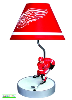 Detroit Red Wings Table Lamp
