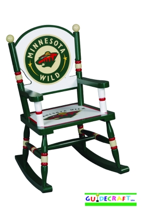 Minnesota Wild Kid's Rocking Chair