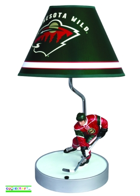 Minnesota Wild Table Lamp