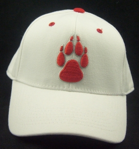 New Mexico Lobos White One Fit Hat
