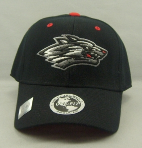 New Mexico Lobos Black One Fit Hat