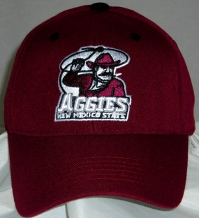 New Mexico State Aggies Team Color One Fit Hat