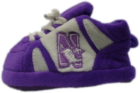 Northwestern Wildcats Baby Slippers