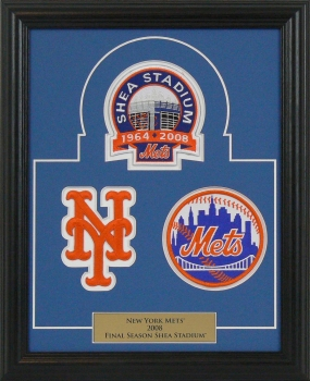 Shea Stadium Final Season Authentic Patch Collection