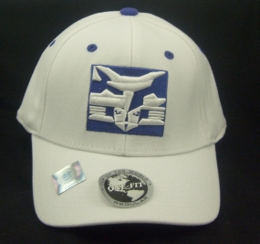 NYU Bobcats White One Fit Hat