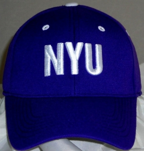 NYU Bobcats Team Color One Fit Hat