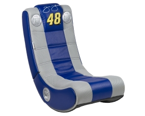 Jimmie Johnson Video Game Sound Chair Rocker