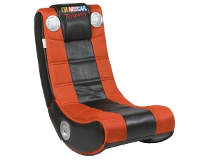 Nascar Racing Video Game Sound Chair Rocker