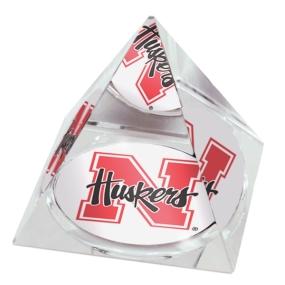 Nebraska Cornhuskers Crystal Pyramid