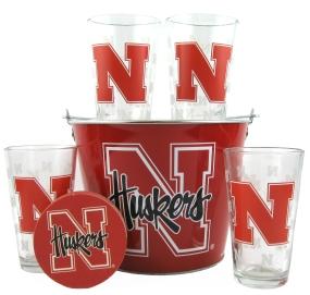 Nebraska Cornhuskers Gift Bucket Set