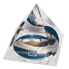 New York Yankees Crystal Pyramid