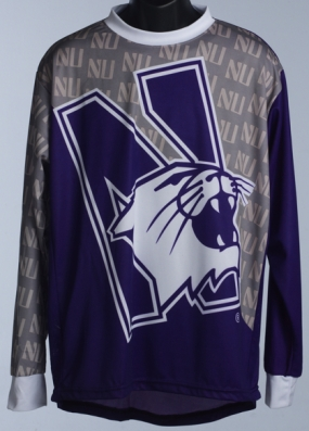 Northwestern Wildcats Mountain Bike Jersey