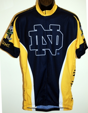 Notre Dame Fighting Irish Cycling Jersey