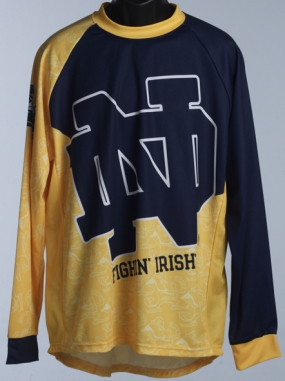 Notre Dame Fighting Irish Mountain Bike Jersey
