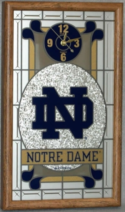 Notre Dame Fighting Irish Wall Clock