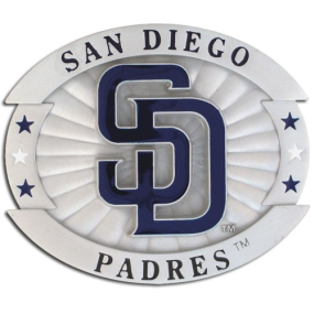 MLB Oversized Buckle - San Diego Padres