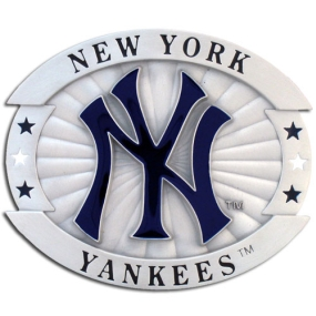 MLB Oversized Buckle - New York Yankees