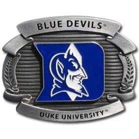 College Oversized Belt Buckle - Duke Blue Devils
