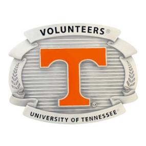 College Oversized Belt Buckle - Tennessee Volunteers