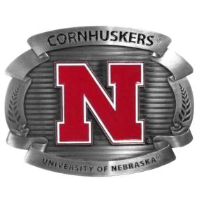 Nebraska Cornhuskers Oversized Buckle