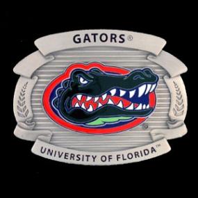 College Oversized Belt Buckle - Florida Gators