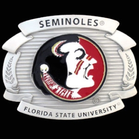 College Oversized Belt Buckle - FSU Seminoles