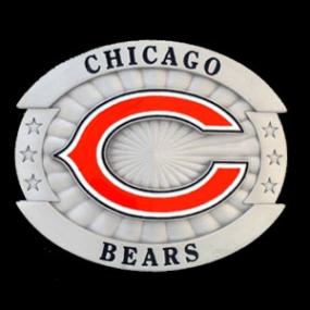 Oversized NFL Buckle - Chicago Bears
