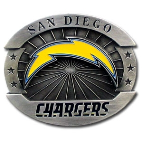 Oversized NFL Buckle - San Diego Chargers