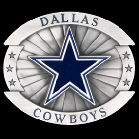 Oversized NFL Buckle - Oversized Buckle - Dallas Cowboys