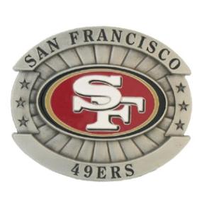 Oversized NFL Buckle - San Francisco 49ers