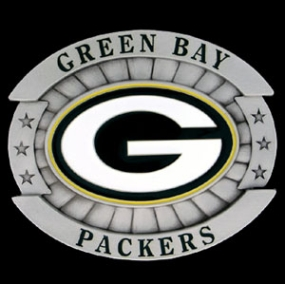 Oversized NFL Buckle - Oversized Buckle - Green Bay Packers