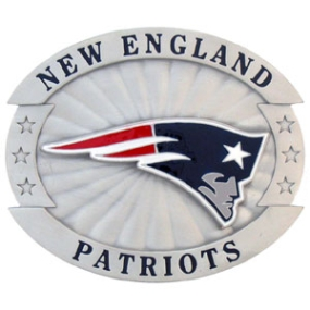 Oversized NFL Buckle - New England Patriots