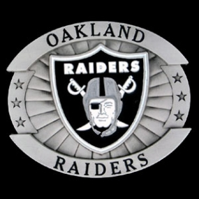 Oversized NFL Buckle - Oversized Buckle - Oakland Raiders