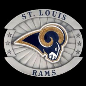 Oversized NFL Buckle - St. Louis Rams