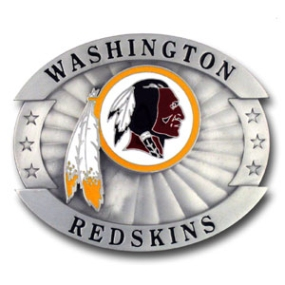 Oversized NFL Buckle - Washington Redskins