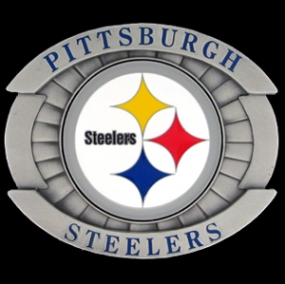 Oversized NFL Buckle - Oversized Buckle - Pittsburgh Steelers