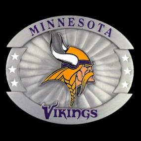 Oversized NFL Buckle - Minnesota Vikings