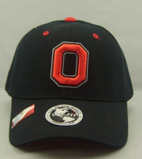 Ohio State Buckeyes Black One Fit Hat
